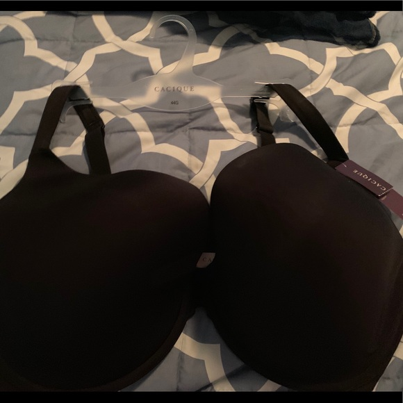 Cacique Other - 44G Smooth Boost Plunge Bra NWT